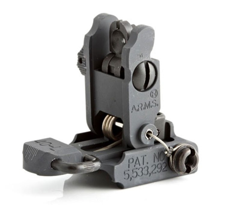 ARMS #40L-C Stand Alone Low Profile Flip Up Rear Sight