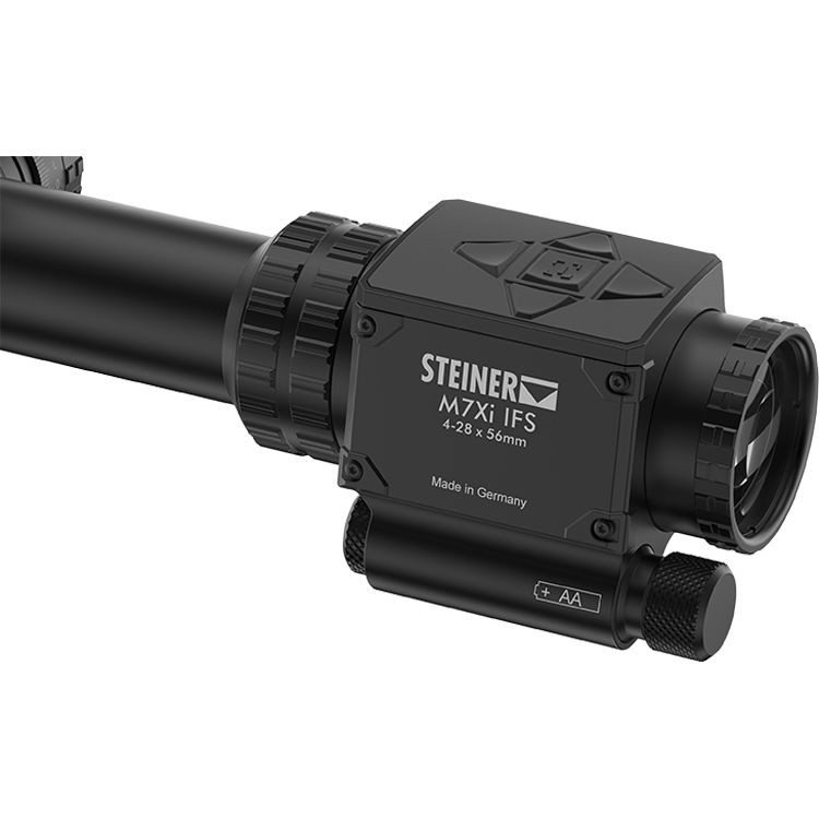 Steiner 4-28x56 M7Xi IFS 34mm Rifle Scope