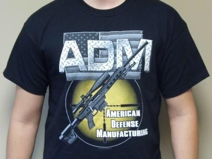 American Defense Sniper Rifle T-Shirt