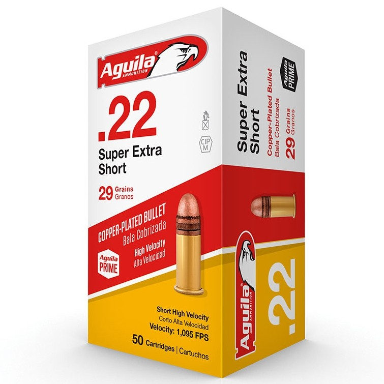 Aguila Super Extra 22 Short 50rd Ammo