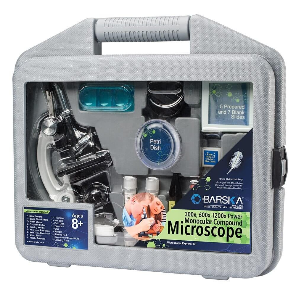 Barska Microscope Kit with Carrying Case