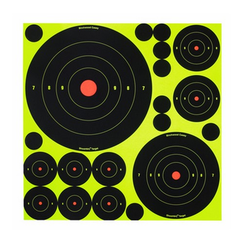 "Birchwood Casey Shoot N C Ass't 1"", 2"", 3"", 6"" & 8"" Targets"