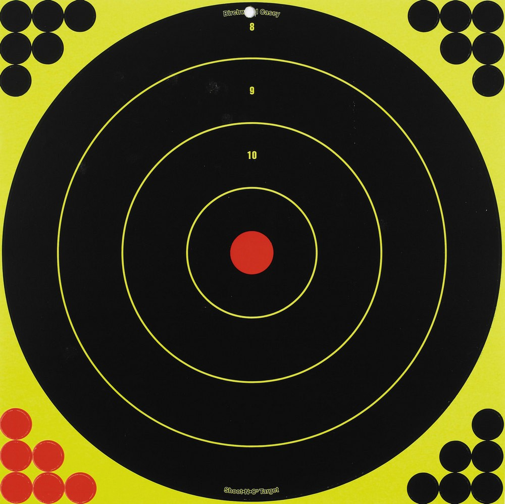 "Birchwood Casey Shoot N C 17.25"" Bull's-eye Target"