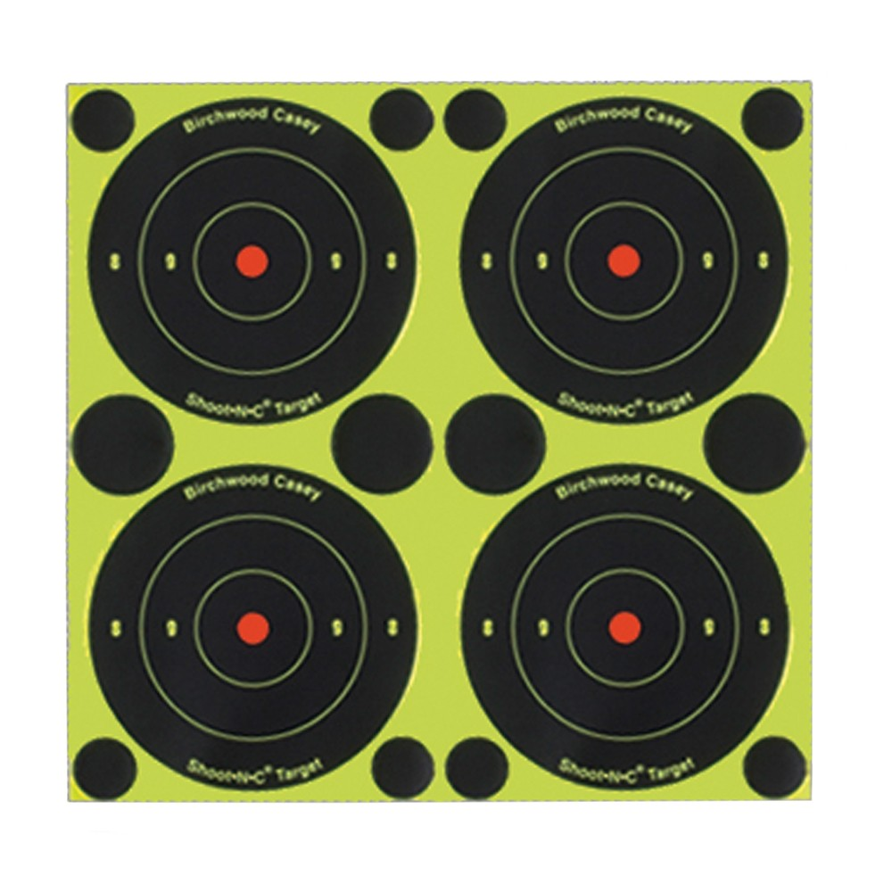 "Birchwood Casey Shoot N C 3"" Bull's-eye Target"