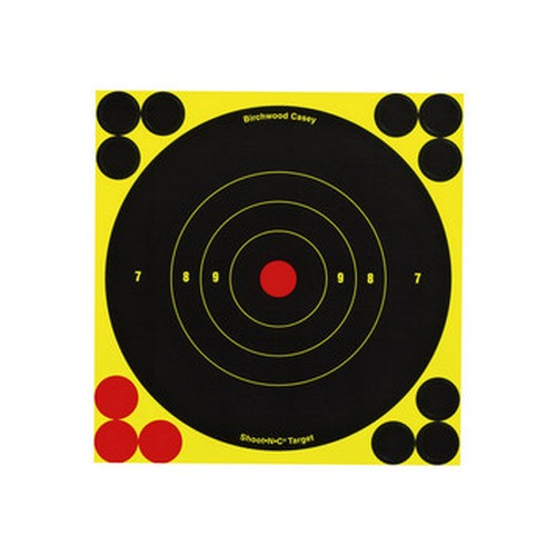 "Birchwood Casey Shoot N C 6"" Bull's-eye Target"