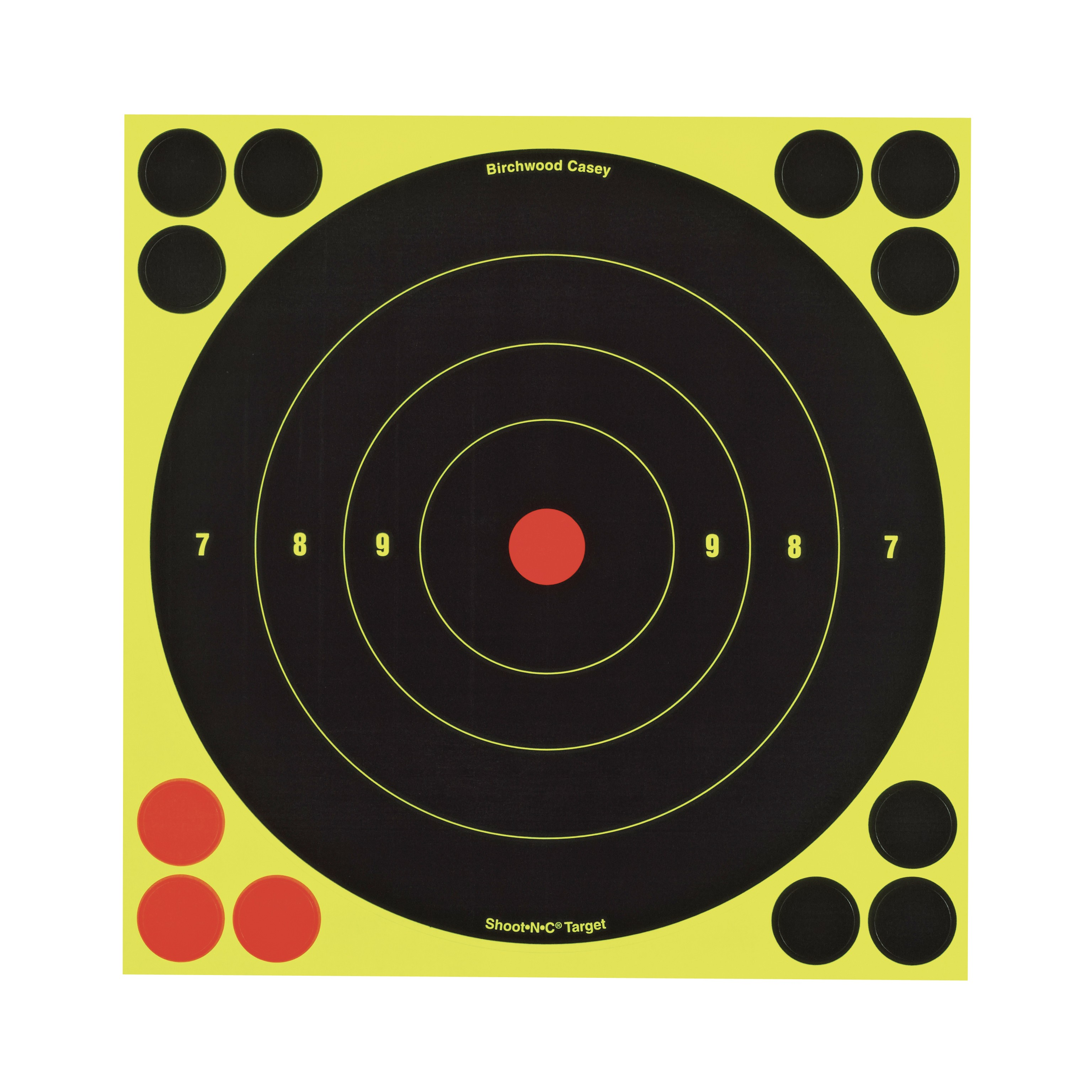 "Birchwood Casey Shoot N C 8"" Bull's-eye Target"