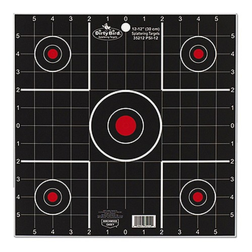 "Birchwood Casey Dirty Bird 12"" Sight-In Target"