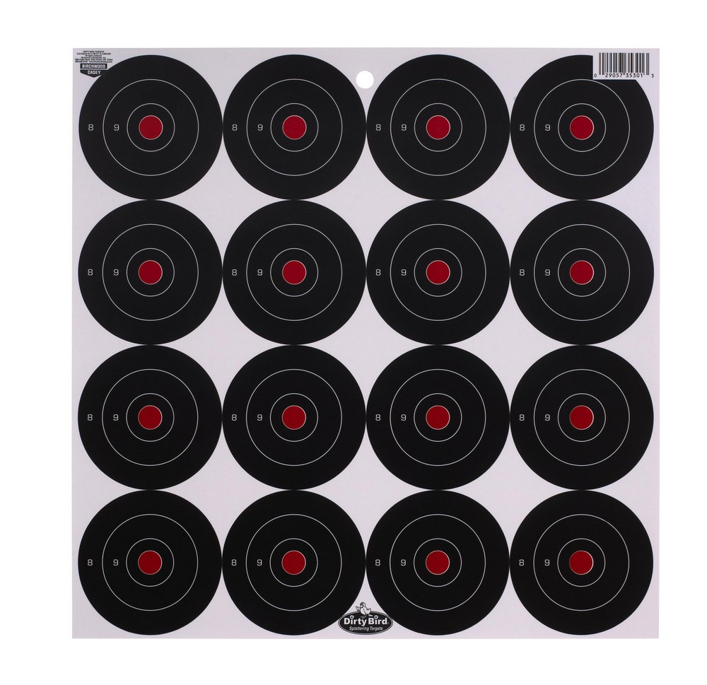 "Birchwood Casey Dirty Bird 3"" Bull's-eye Target"