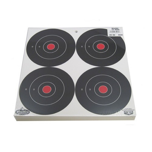 "Birchwood Casey Dirty Bird 6"" Bull's-eye Target"