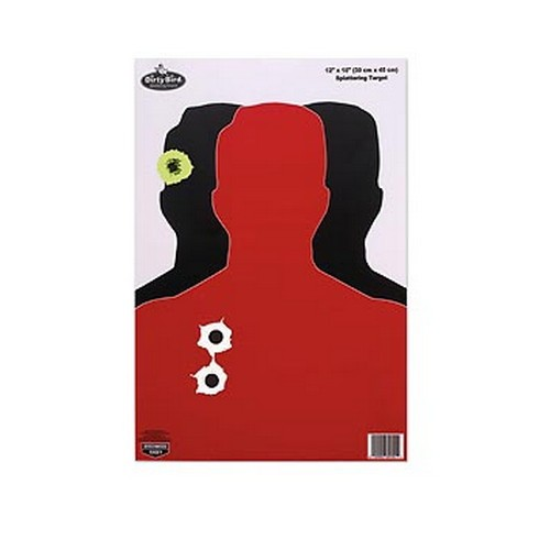 "Birchwood Casey Dirty Bird 12"" x 18"" Silhouette III Target"
