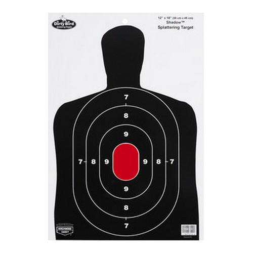 "Birchwood Casey Dirty Bird 12"" x 18"" BC-27 Silhouette Target"