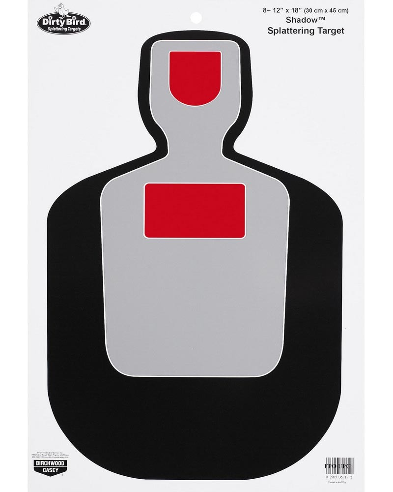 "Birchwood Casey Dirty Bird 12"" x 18"" BC-19 Silhouette Target"