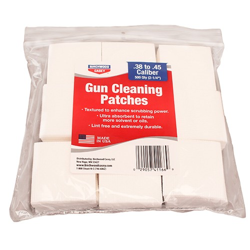 Birchwood Casey Gun Cleaning Patches