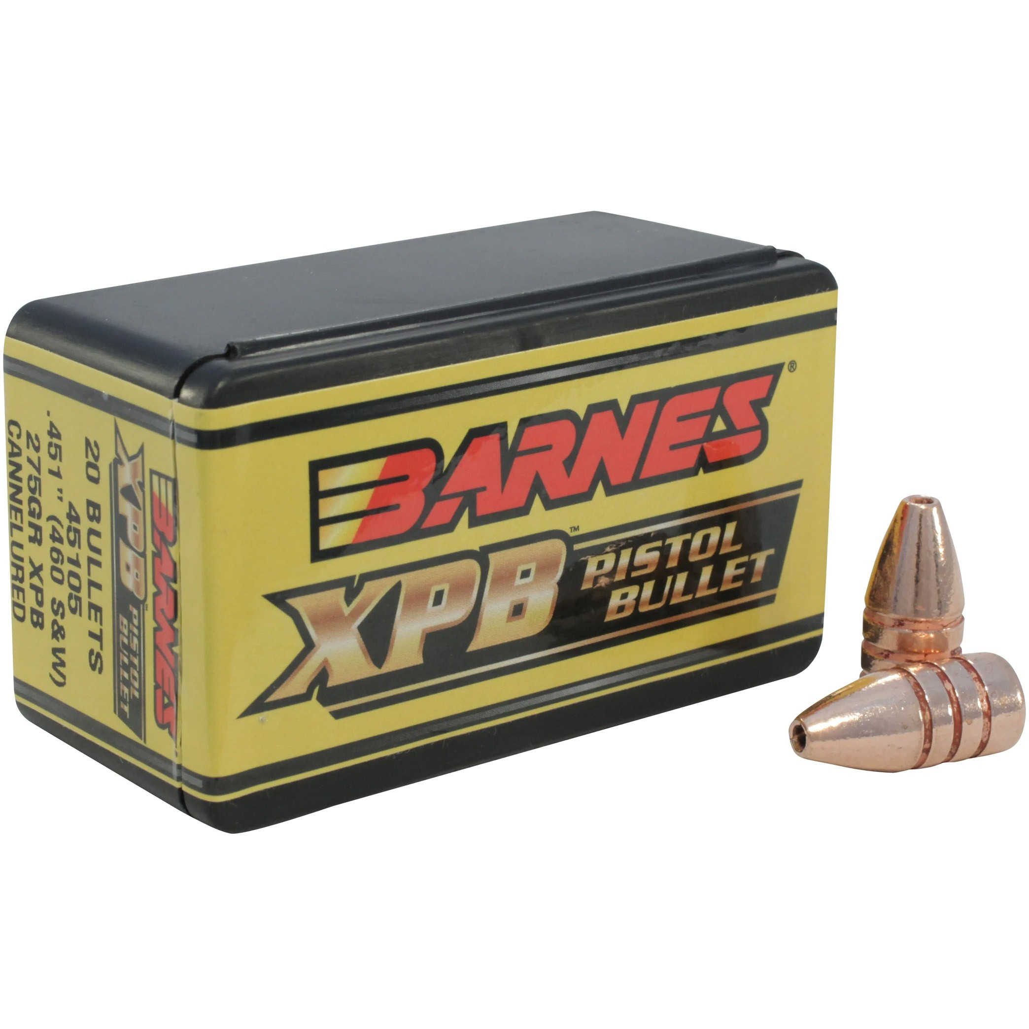 Barnes XPB 460 Smith & Wesson 20rd Bullet