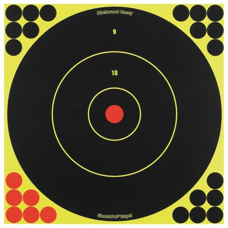 "Birchwood Casey Shoot N C 12"" Bull's-eye Target"