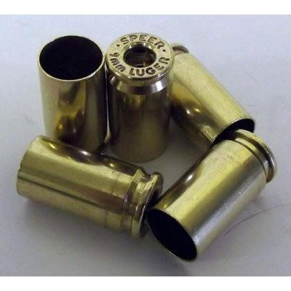 Top Brass Once Fired Reconditioned 9mm Luger Brass