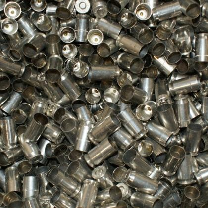 Top Brass Once Fired Reconditioned 45 ACP Nickel