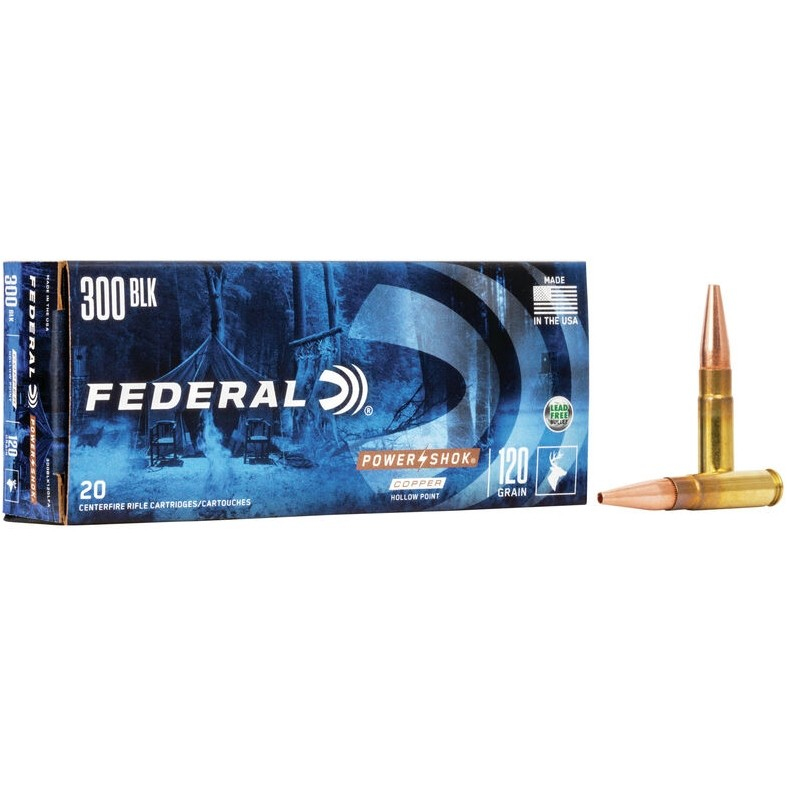 Federal Power-Shok 300 AAC Blackout 20rd Ammo