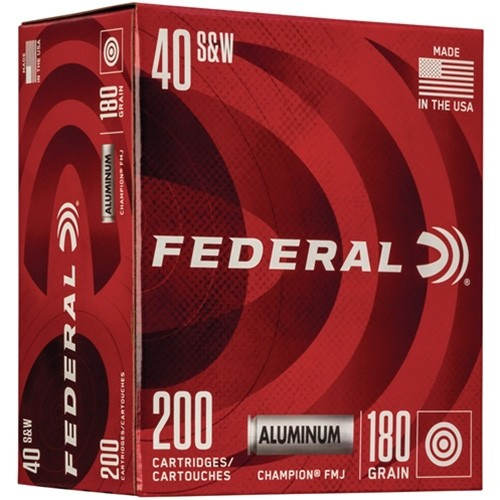 Federal Champion 40 Smith & Wesson 200rd Ammo