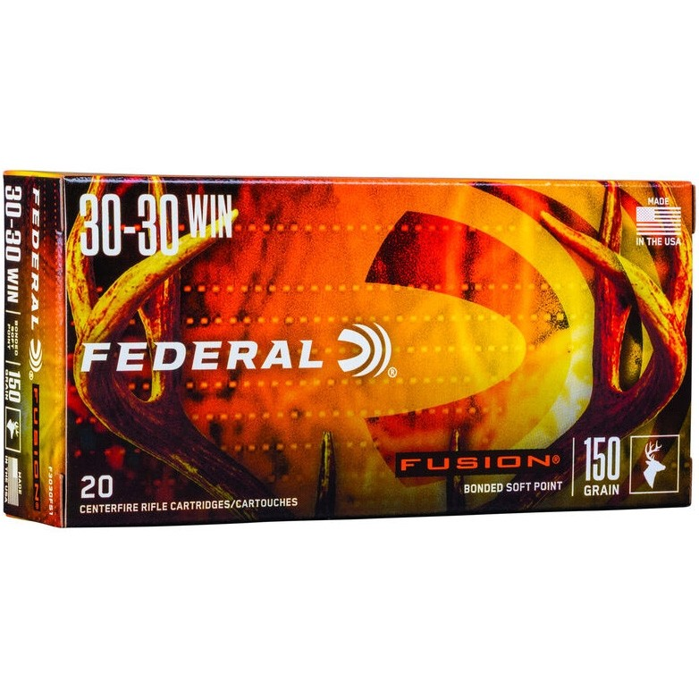 Federal Fusion 30-30 Winchester 20rd Ammo