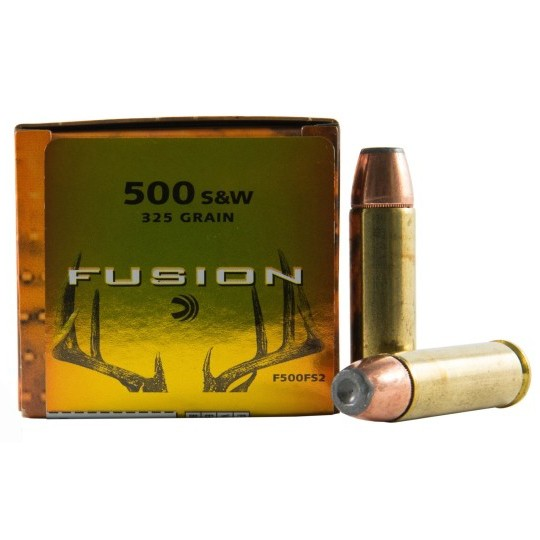 Federal Fusion 500 Smith & Wesson 20rd Ammo