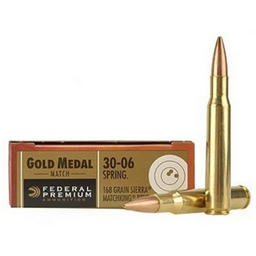 Federal Gold Medal 30-06 Springfield 20rd Ammo