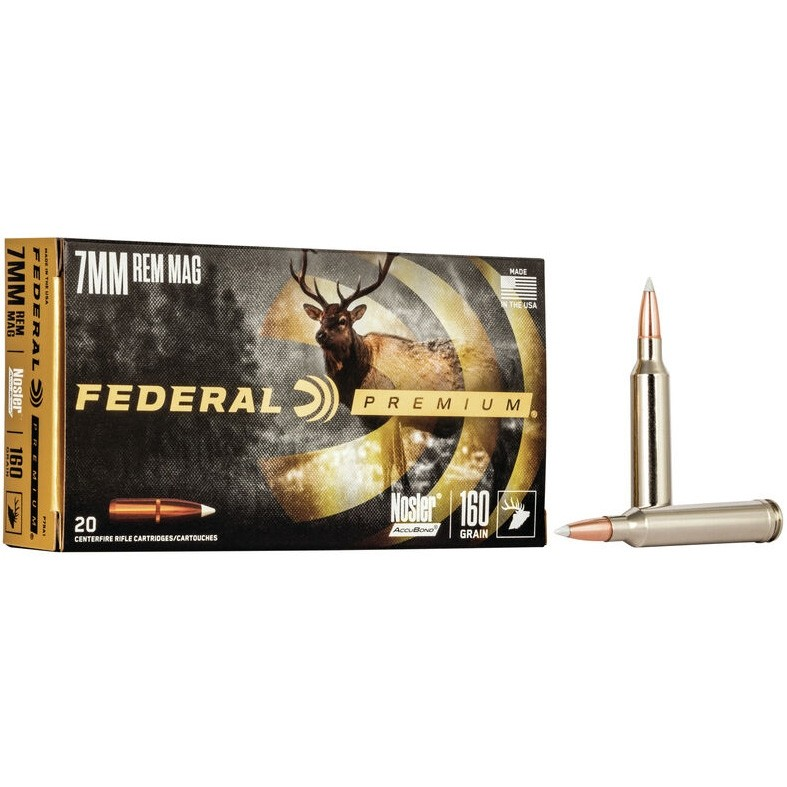 Federal Vital-Shok 7mm Remington Magnum 20rd Ammo