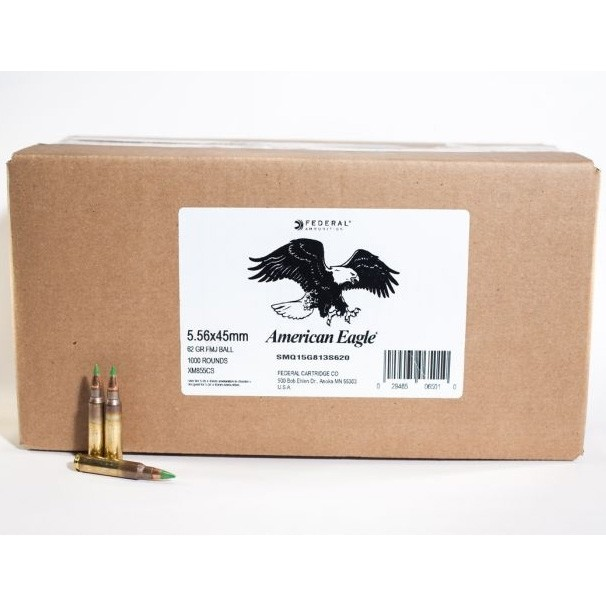 Federal American Eagle 5.56x45mm 1000rd Ammo