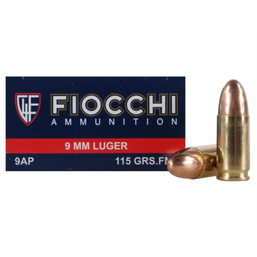 Buy Fiocchi Shooting Dynamics 9mm Luger 50rd Ammos At SWFA