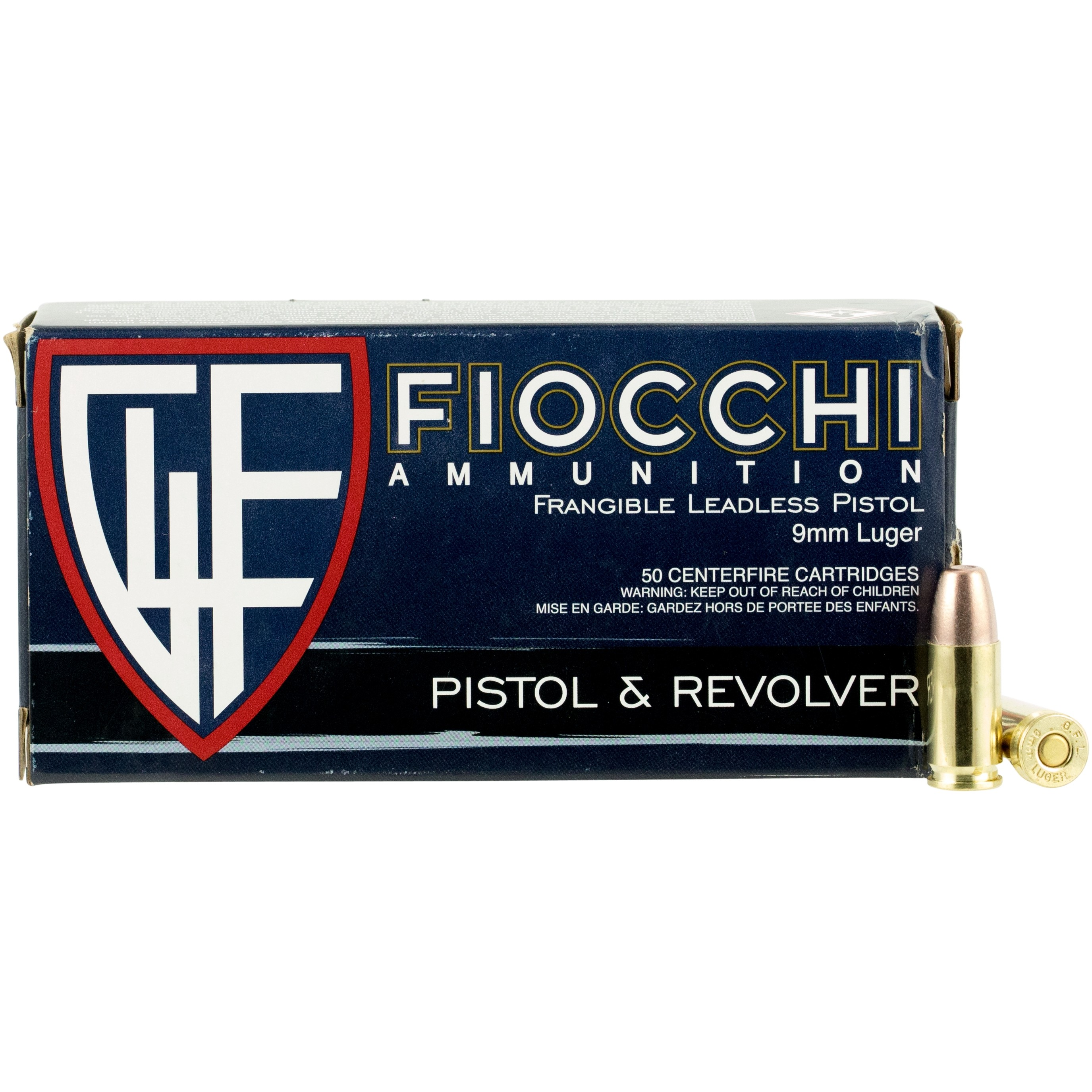 Fiocchi Shooting Dynamics 9mm Luger 50rd Ammo