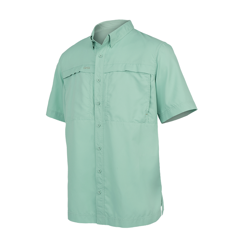 GameGuard Men's Coastal Green MicroFiber Shirt