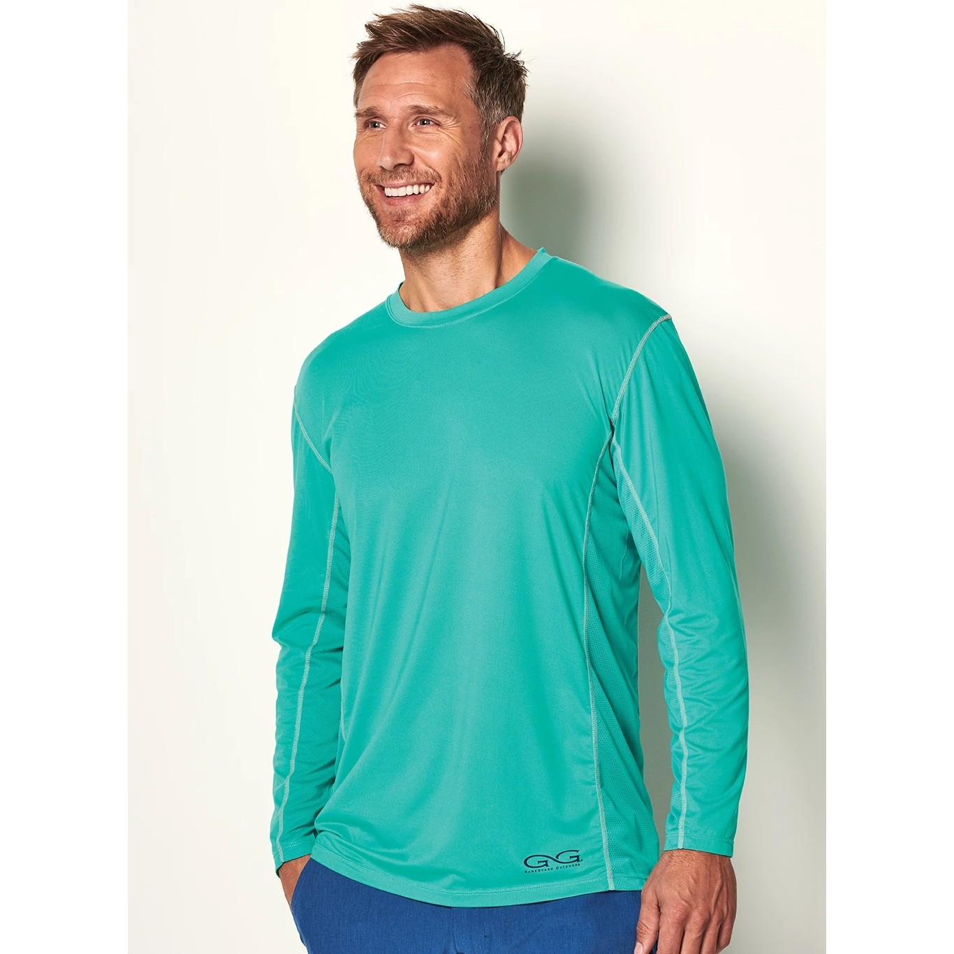 GameGuard Men's Caribbean Long Sleeve Performance Tee
