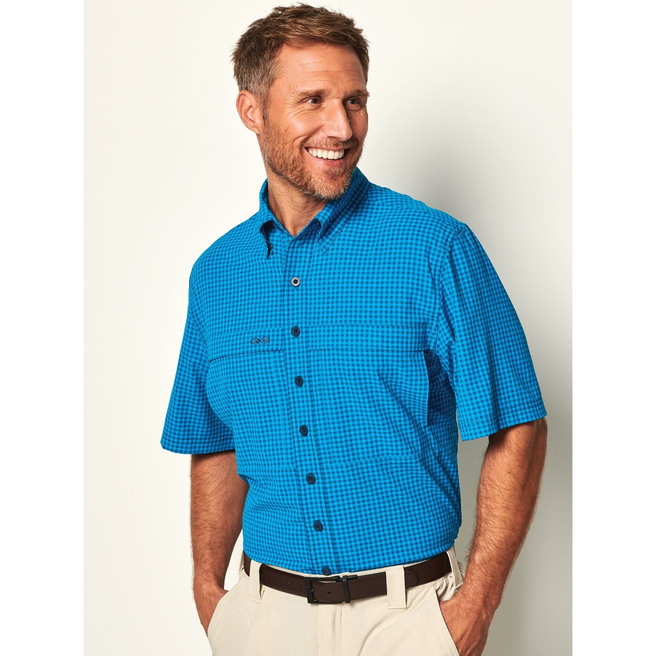GameGuard Men's Atlantic TekCheck Shirt