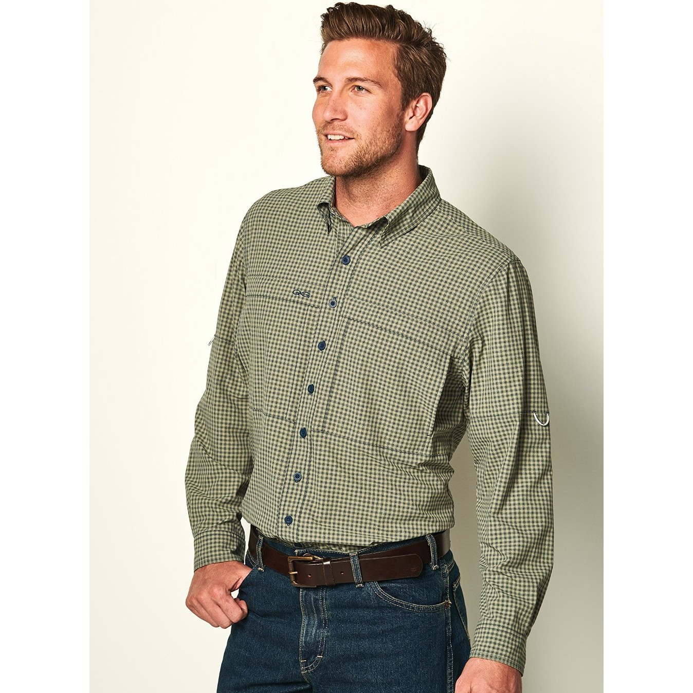 GameGuard Men's Mesquite TekCheck Long Sleeve Shirt