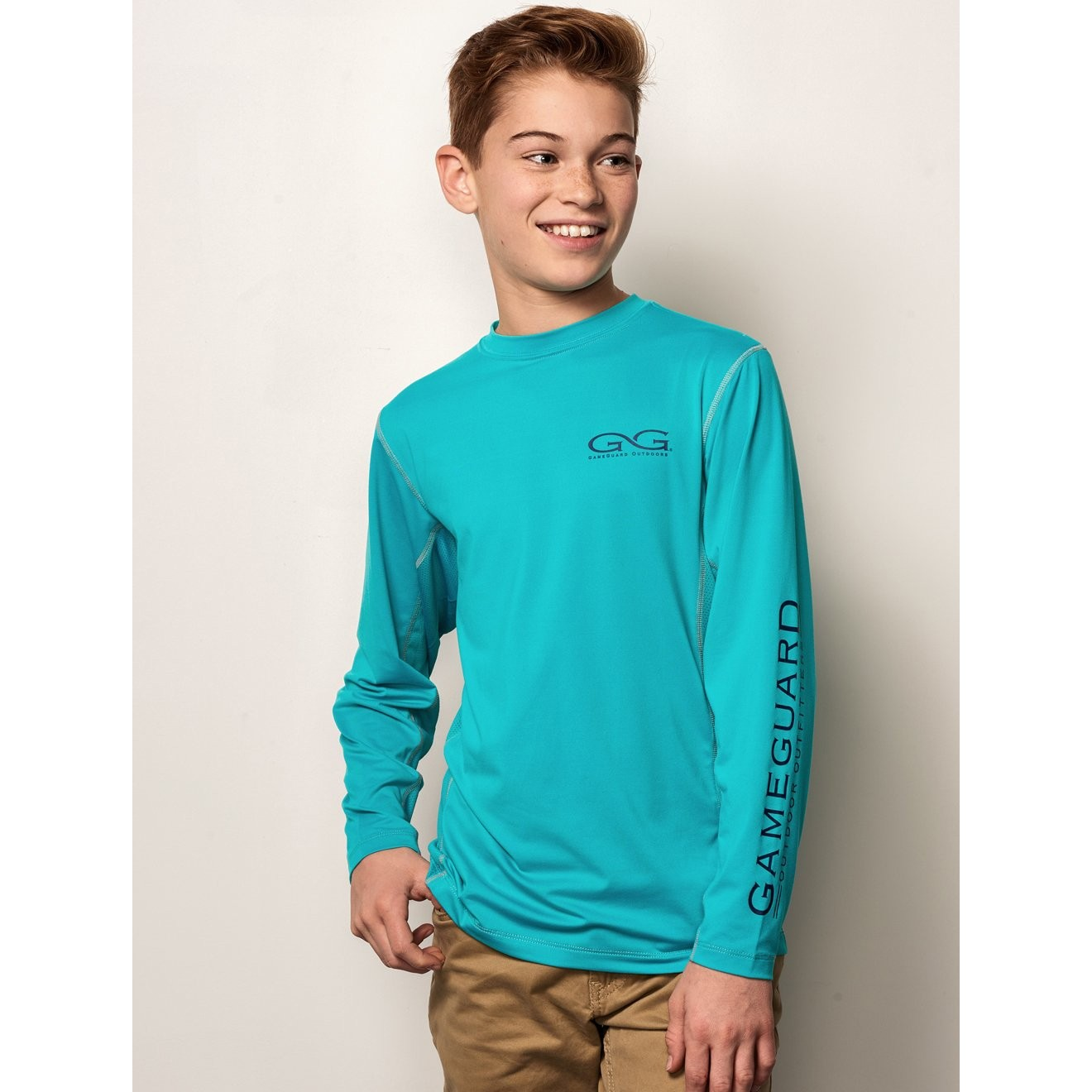 GameGuard Youth Caribbean Long Sleeve Performance Tee