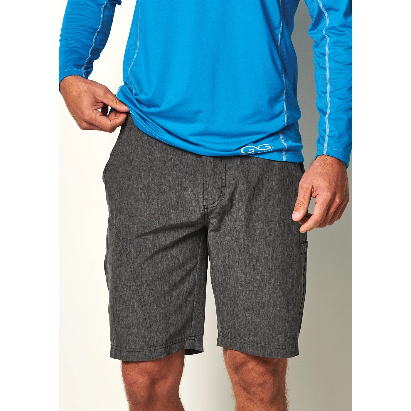 GameGuard Men's Graphite Shorts