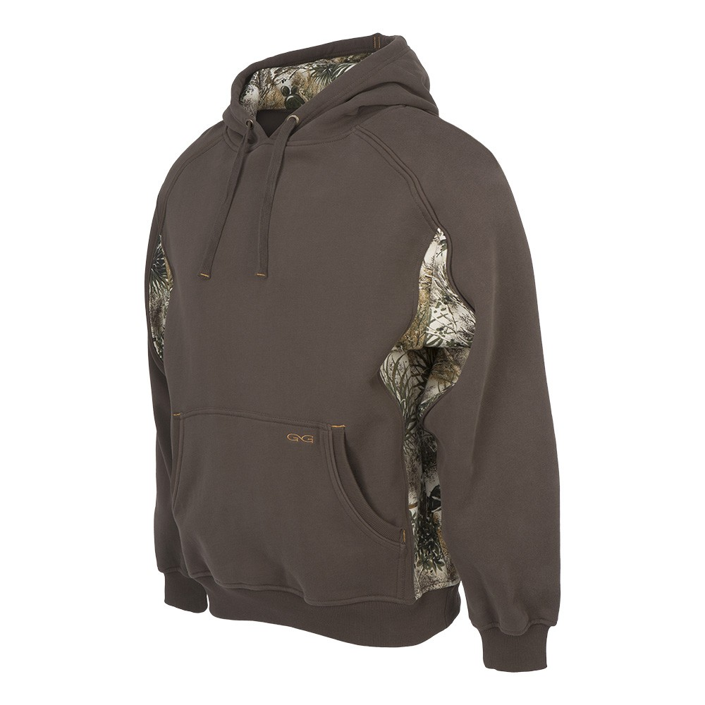 GameGuard Men's Chocolate Hooded Sweatshirt