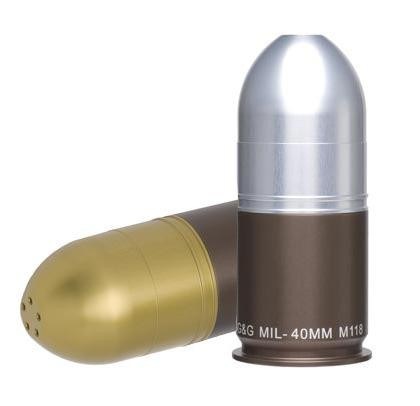 GG&G 40mm Grenade Salt & Pepper Shaker Set