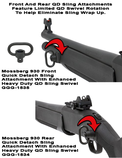 GG&G Mossberg 930 Quick Detach Front Sling Attachment