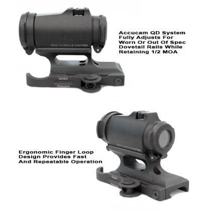 GG&G Aimpoint T-2 / H-2 Accucam Quick Detach Mount