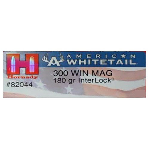 Hornady American Whitetail 300 Winchester Magnum 20rd Ammo