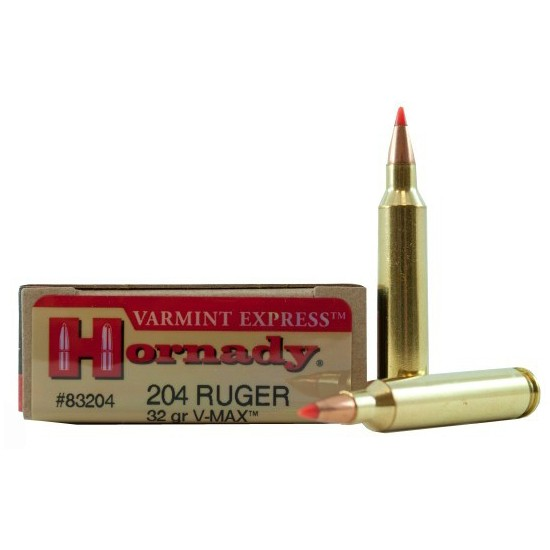 Hornady Superformance Varmint 204 Ruger 20rd Ammo