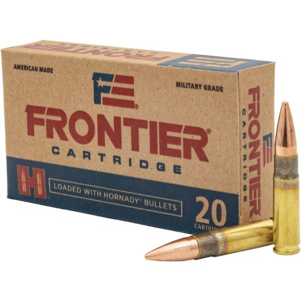 Hornady Frontier 300 Blackout 20rd Ammo