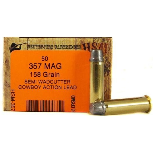 HSM Cowboy Action 357 Magnum 50rd Ammo