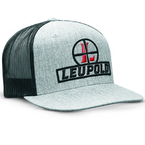 Leupold Reticle Flat Brim Trucker Hat