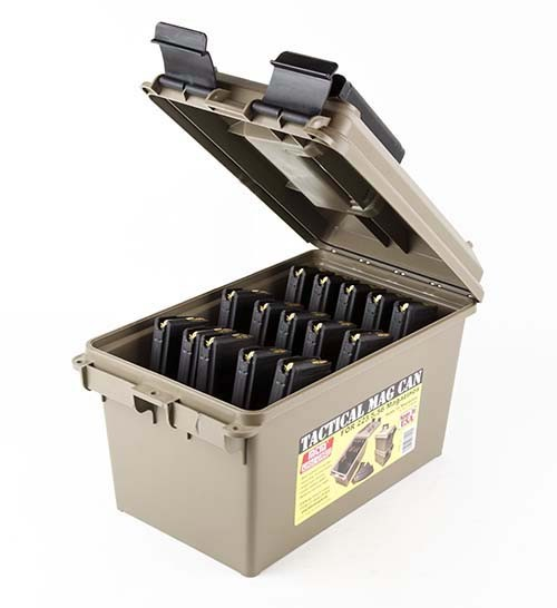 15 Loaded 30rd Magazines MTM Plastic Ammo Can .223 55gr