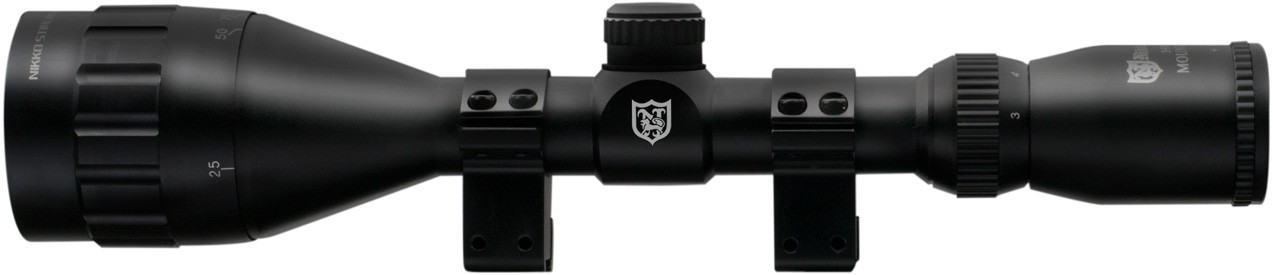 Nikko Stirling 3-9x50 Mountmaster Riflescope