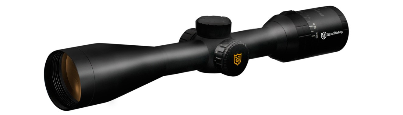 Nikko Stirling 3-9x50 Panamax Riflescope