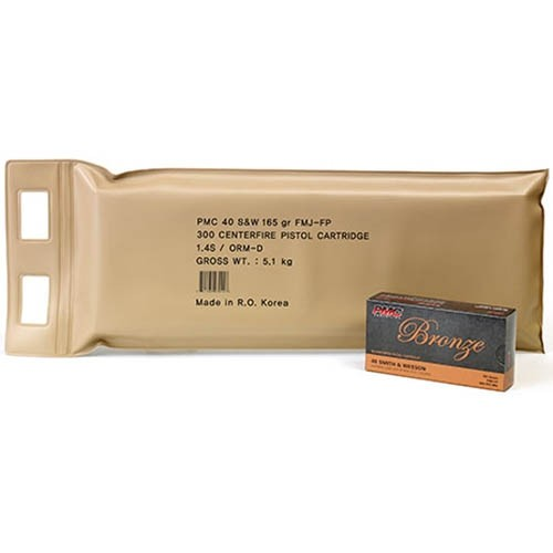 PMC Bronze 40 Smith & Wesson 300rd Ammo