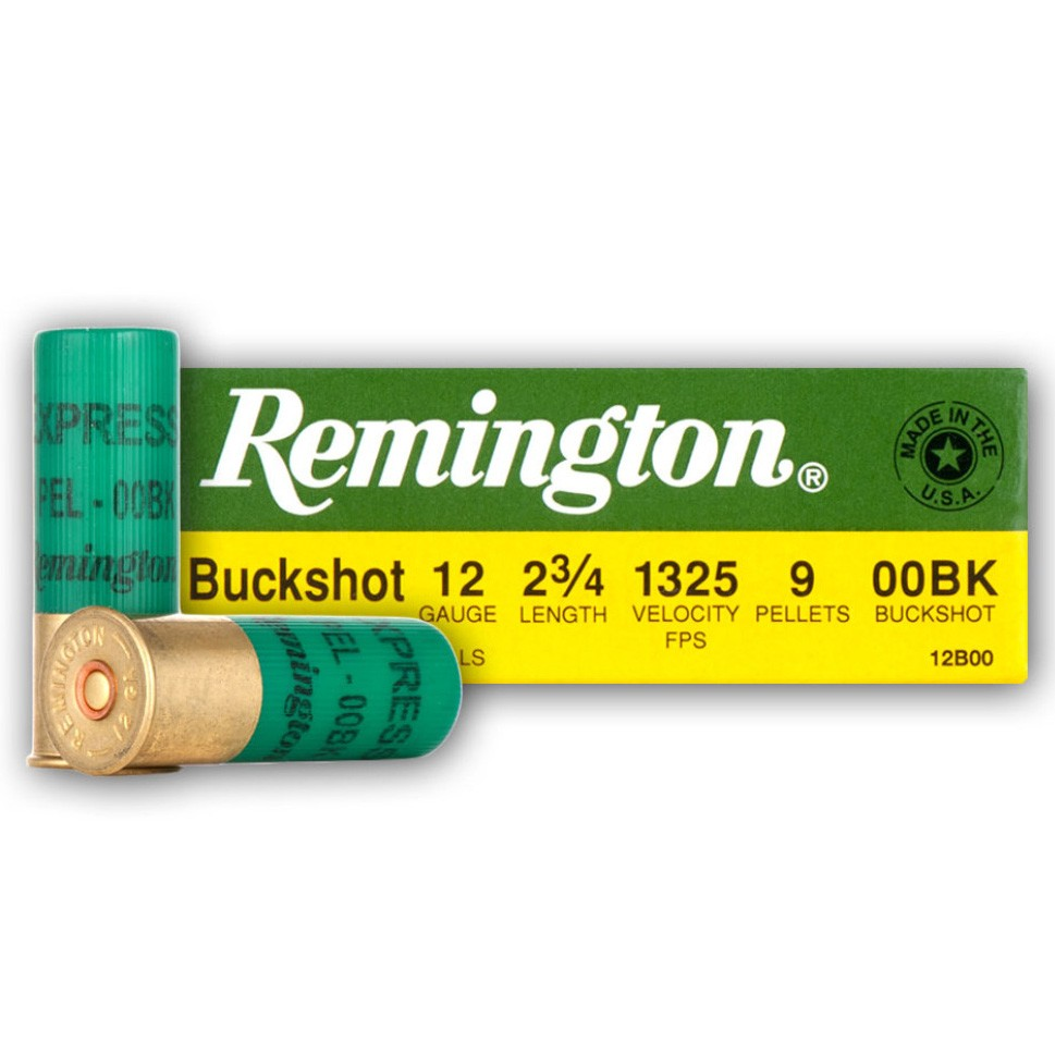 Remington Express 12 Gauge 00 Buck 5rd Ammo
